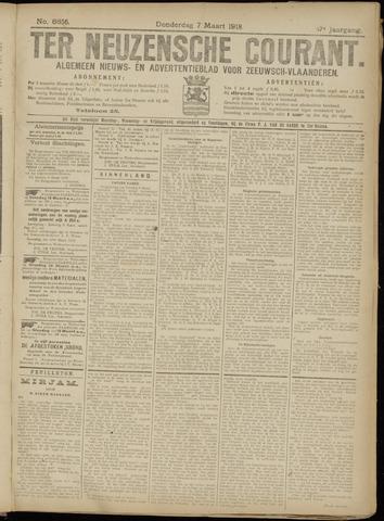 Ter Neuzensche Courant. Algemeen Nieuws- en Advertentieblad voor Zeeuwsch-Vlaanderen / Neuzensche Courant ... (idem) / (Algemeen) nieuws en advertentieblad voor Zeeuwsch-Vlaanderen 1918-03-07