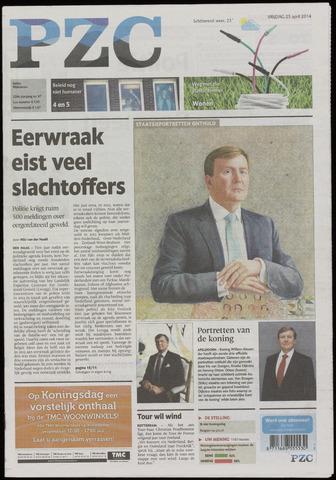 Provinciale Zeeuwse Courant 2014-04-25