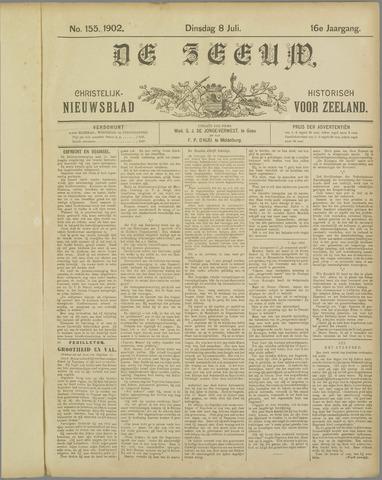 De Zeeuw. Christelijk-historisch nieuwsblad voor Zeeland 1902-07-08