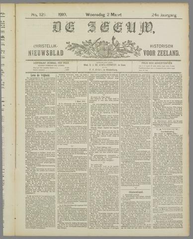 De Zeeuw. Christelijk-historisch nieuwsblad voor Zeeland 1910-03-02