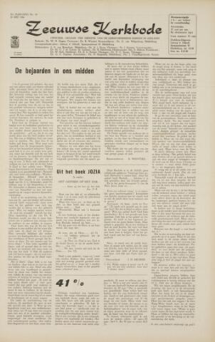 Zeeuwsche kerkbode, weekblad gewijd aan de belangen der gereformeerde kerken/ Zeeuwsch kerkblad 1966-05-20