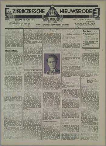 Zierikzeesche Nieuwsbode 1936-06-16