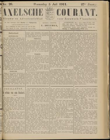 Axelsche Courant 1911-07-05