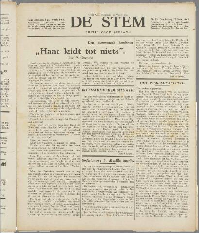 de Stem 1945-02-22