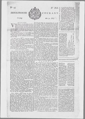 Zierikzeesche Courant 1806