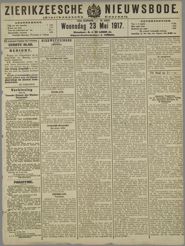 Zierikzeesche Nieuwsbode 1917-05-23
