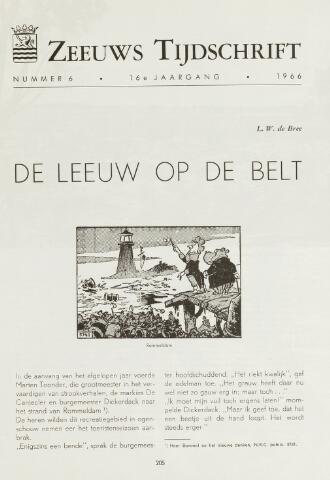Zeeuws Tijdschrift 1966-11-01