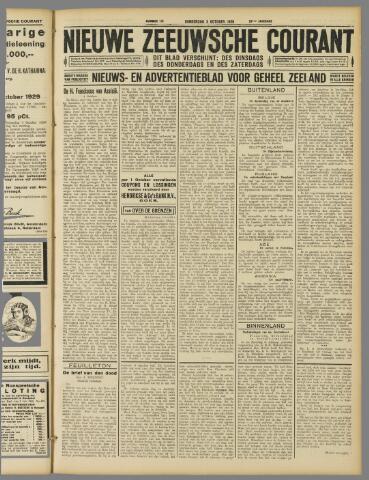 Nieuwe Zeeuwsche Courant 1929-10-03