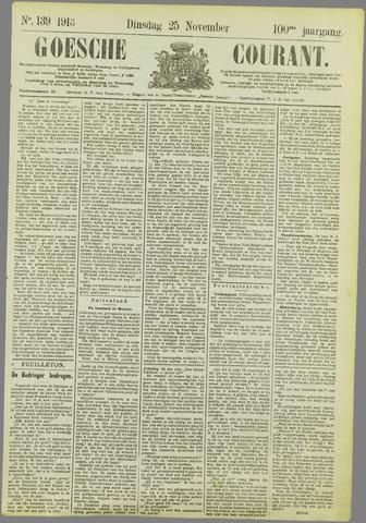Goessche Courant 1913-11-25