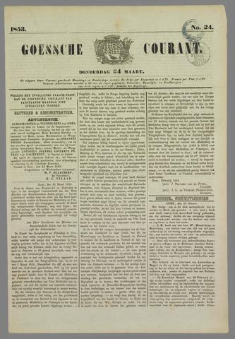 Goessche Courant 1853-03-24