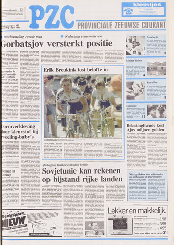 Provinciale Zeeuwse Courant 1990-07-12