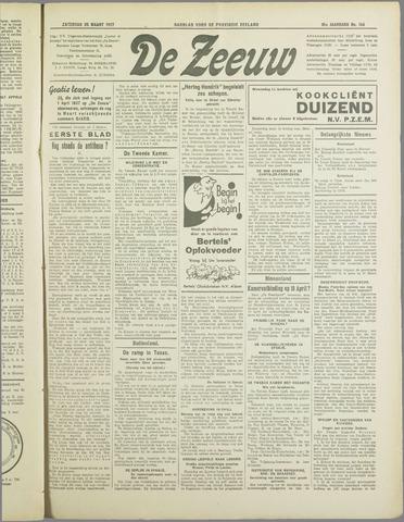 De Zeeuw. Christelijk-historisch nieuwsblad voor Zeeland 1937-03-20