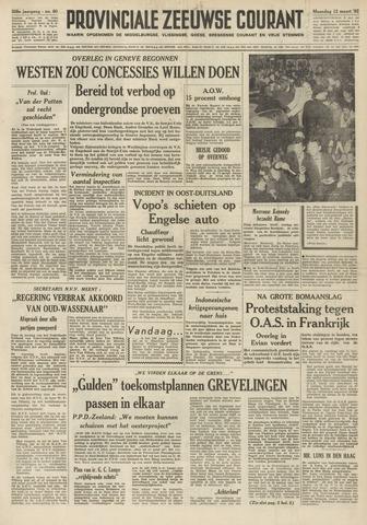 Provinciale Zeeuwse Courant 1962-03-12