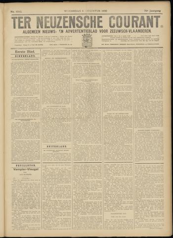 Ter Neuzensche Courant. Algemeen Nieuws- en Advertentieblad voor Zeeuwsch-Vlaanderen / Neuzensche Courant ... (idem) / (Algemeen) nieuws en advertentieblad voor Zeeuwsch-Vlaanderen 1930-08-06