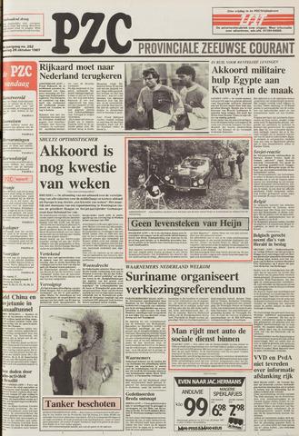 Provinciale Zeeuwse Courant 1987-10-26