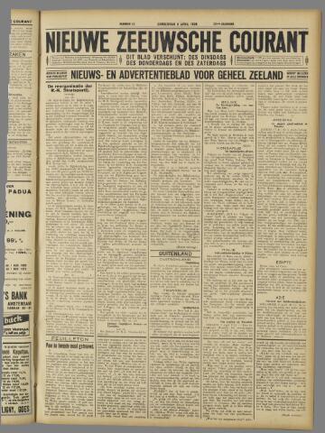 Nieuwe Zeeuwsche Courant 1926-04-08