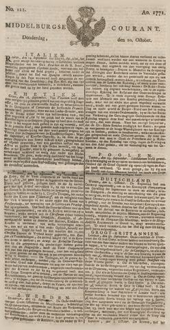 Middelburgsche Courant 1771-10-10