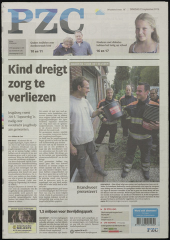 Provinciale Zeeuwse Courant 2014-09-23