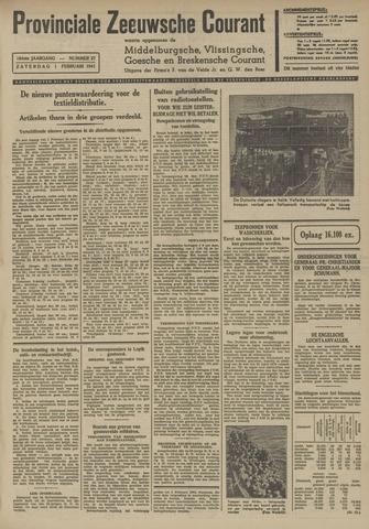 Provinciale Zeeuwse Courant 1941-02-01