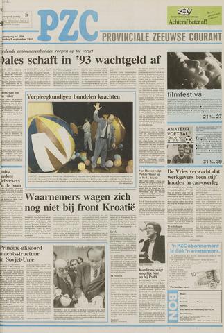 Provinciale Zeeuwse Courant 1991-09-05