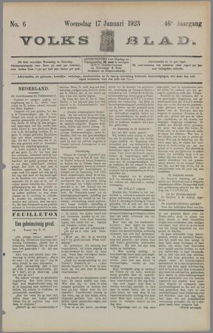 Volksblad 1923-01-17