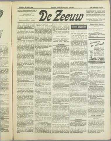 De Zeeuw. Christelijk-historisch nieuwsblad voor Zeeland 1934-03-28