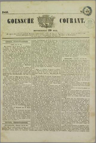 Goessche Courant 1851-05-29