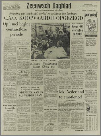 Zeeuwsch Dagblad 1962-02-27