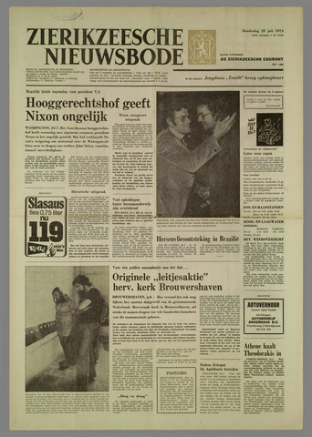 Zierikzeesche Nieuwsbode 1974-07-25