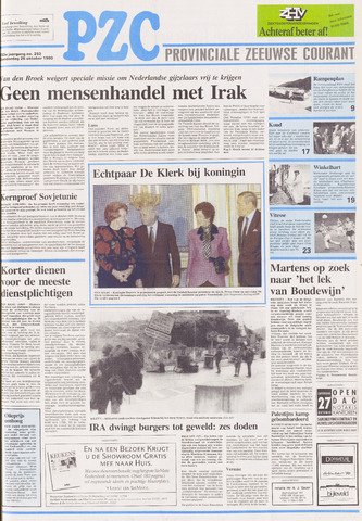 Provinciale Zeeuwse Courant 1990-10-25