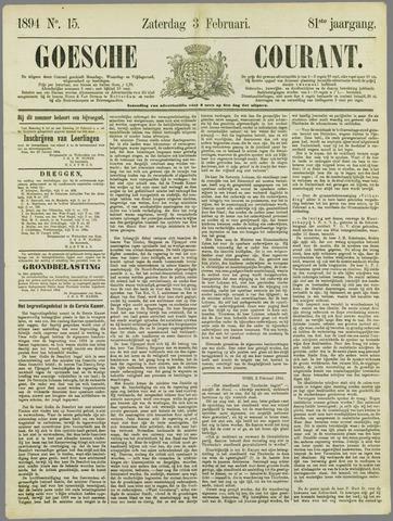 Goessche Courant 1894-02-03