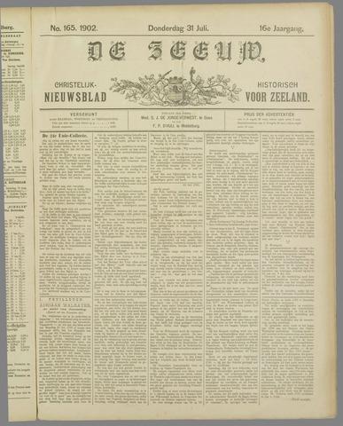 De Zeeuw. Christelijk-historisch nieuwsblad voor Zeeland 1902-07-31