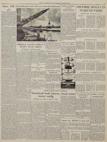 Watersnood documentatie 1953 - kranten 1953-08-19