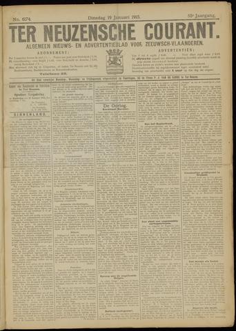 Ter Neuzensche Courant. Algemeen Nieuws- en Advertentieblad voor Zeeuwsch-Vlaanderen / Neuzensche Courant ... (idem) / (Algemeen) nieuws en advertentieblad voor Zeeuwsch-Vlaanderen 1915-01-19