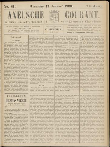 Axelsche Courant 1906-01-17