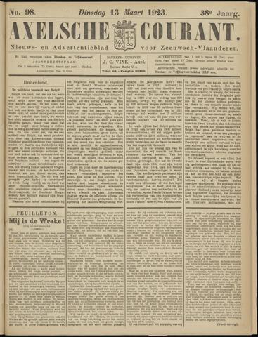 Axelsche Courant 1923-03-13