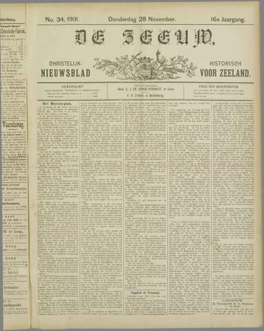 De Zeeuw. Christelijk-historisch nieuwsblad voor Zeeland 1901-11-28