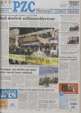 Provinciale Zeeuwse Courant 2005-10-03
