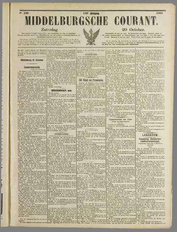 Middelburgsche Courant 1906-10-20