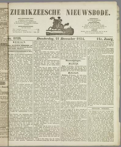 Zierikzeesche Nieuwsbode 1854-12-21
