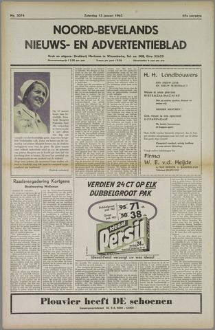 Noord-Bevelands Nieuws- en advertentieblad 1962-01-13