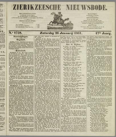 Zierikzeesche Nieuwsbode 1861-01-26