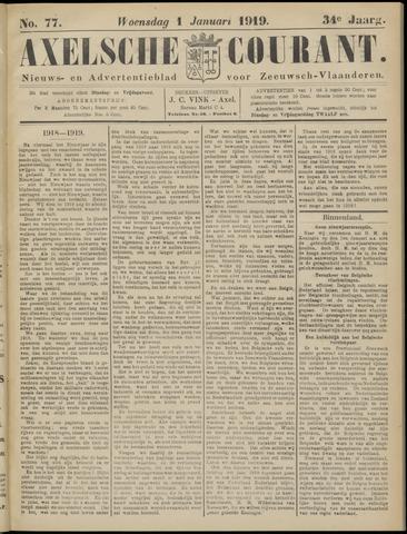 Axelsche Courant 1919-01-01