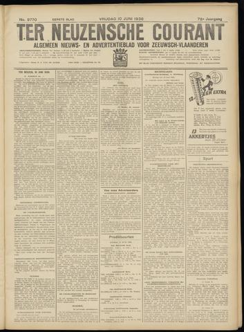 Ter Neuzensche Courant. Algemeen Nieuws- en Advertentieblad voor Zeeuwsch-Vlaanderen / Neuzensche Courant ... (idem) / (Algemeen) nieuws en advertentieblad voor Zeeuwsch-Vlaanderen 1938-06-10