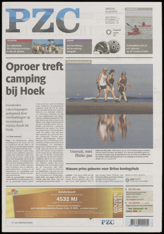 Provinciale Zeeuwse Courant 2013-07-23