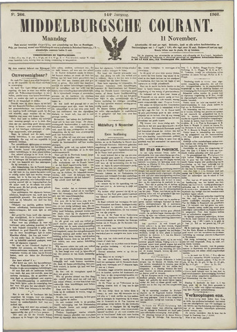 Middelburgsche Courant 1901-11-11