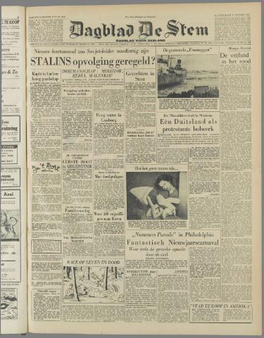 de Stem 1952-01-05