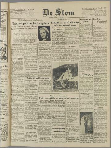 de Stem 1948-02-04