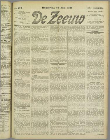 De Zeeuw. Christelijk-historisch nieuwsblad voor Zeeland 1921-06-23