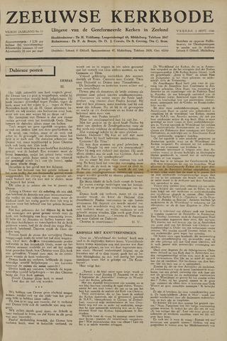 Zeeuwsche kerkbode, weekblad gewijd aan de belangen der gereformeerde kerken/ Zeeuwsch kerkblad 1948-09-03